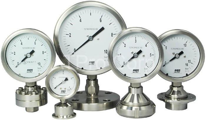 Các thiết bị đo áp suất rất đa dạng