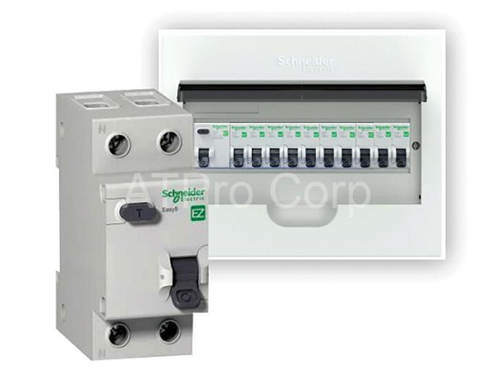 Thiết bị Schneider được đấu nối với hệ thống điện, hệ thống máy móc