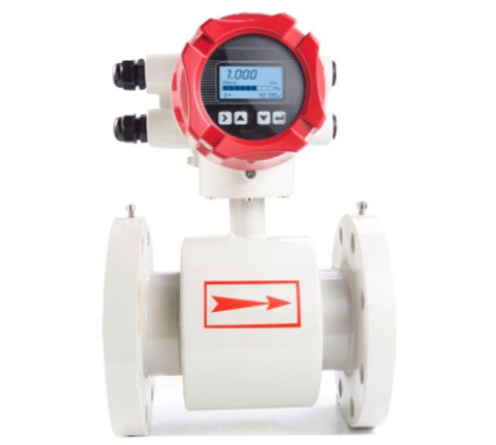 Thiết bị đo lượng nước được thiết kế đơn giản, mặt hiển thị số dễ đọc