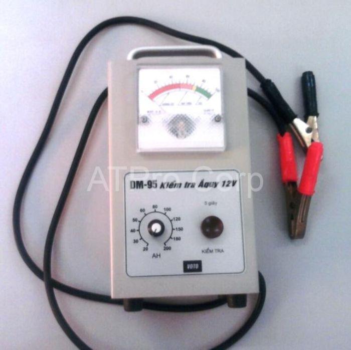 Các thiết bị đo ắc quy có thể xác định kết quả nội trở và điện áp ắc quy
