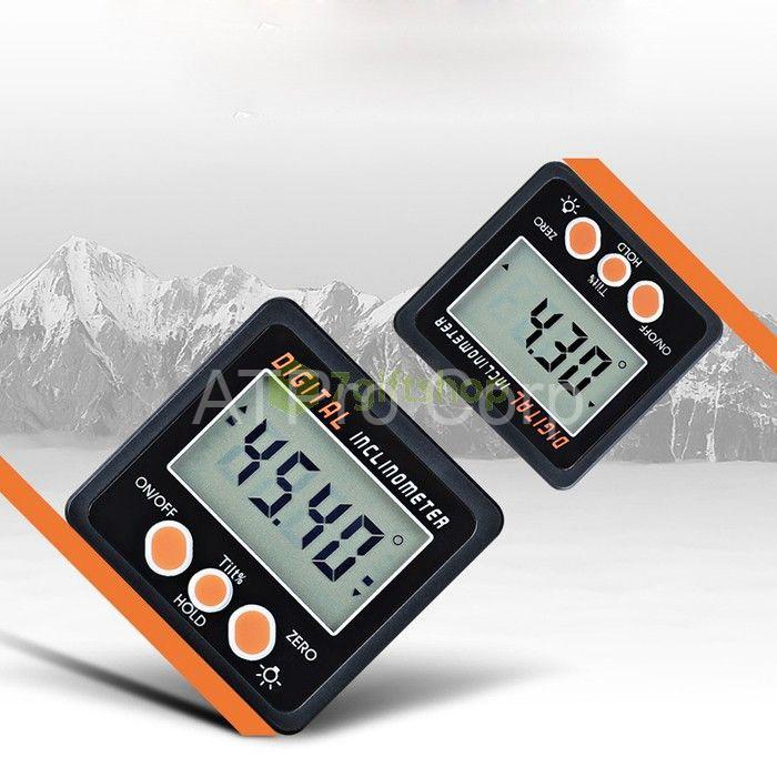 Máy đo góc nghiêng kỹ thuật số được thiết kế với nhiều tính năng vượt trội