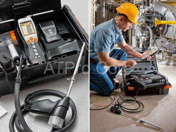 Thiết bị đo khí thải công nghiệp là máy đo và phân tích khí thải, khí độc công nghiệp