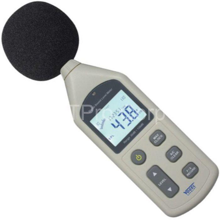 Thiết bị đo âm thanh có thiết kế nhỏ gọn và tiện lợi