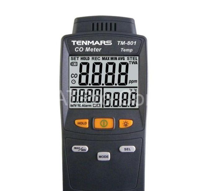 Mục đích sử dụng máy đo nồng độ khí CO