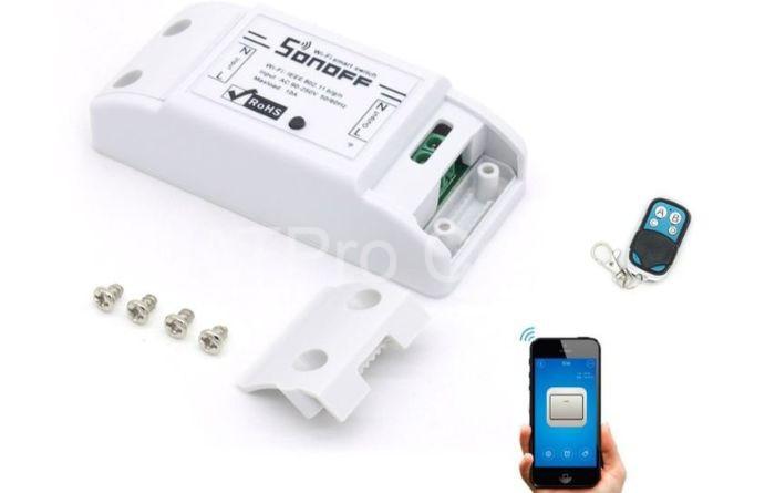 Cách sử dụng thiết bị điều khiển qua wifi tương đối đơn giản