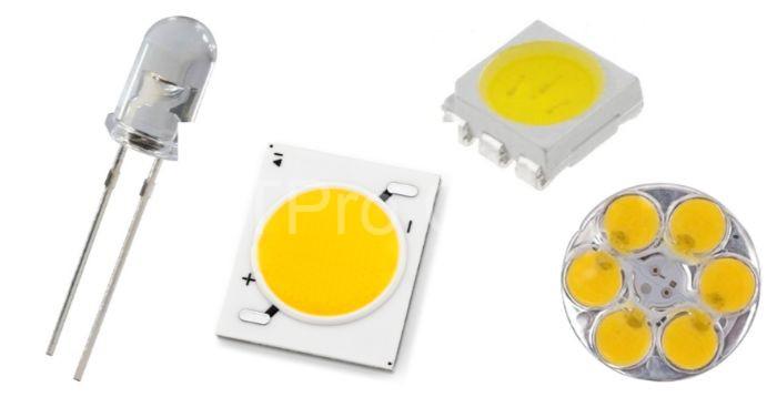 Thiết bị điều khiển đèn led hoạt động dựa trên công nghệ bán dẫn