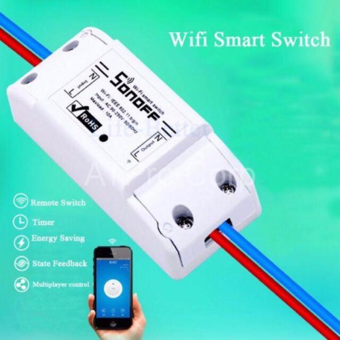 Thiết bị điều khiển qua wifi được dùng để giám sát, điều khiển