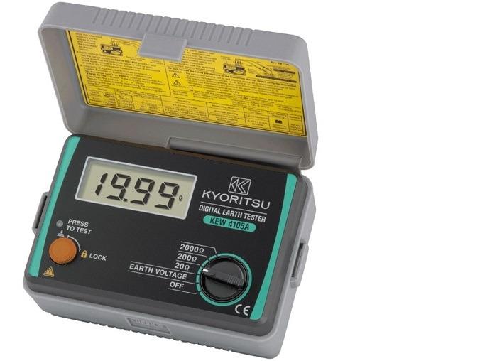 Thiết bị đo điện trở đất Kyoritsu cho độ chính xác cao