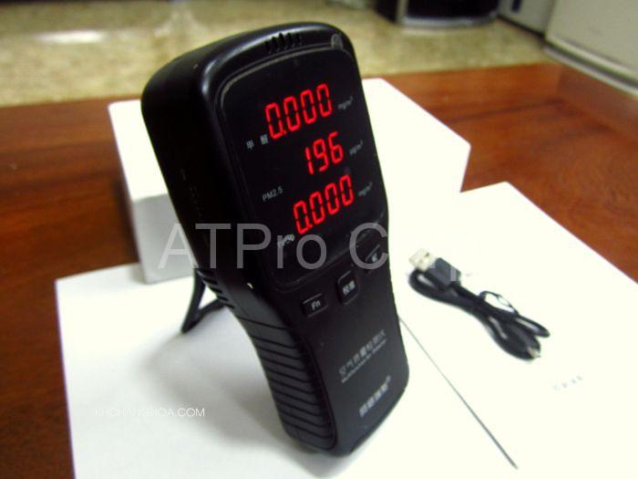 Mục đích của việc sử dụng thiết bị đo ô nhiễm không khí