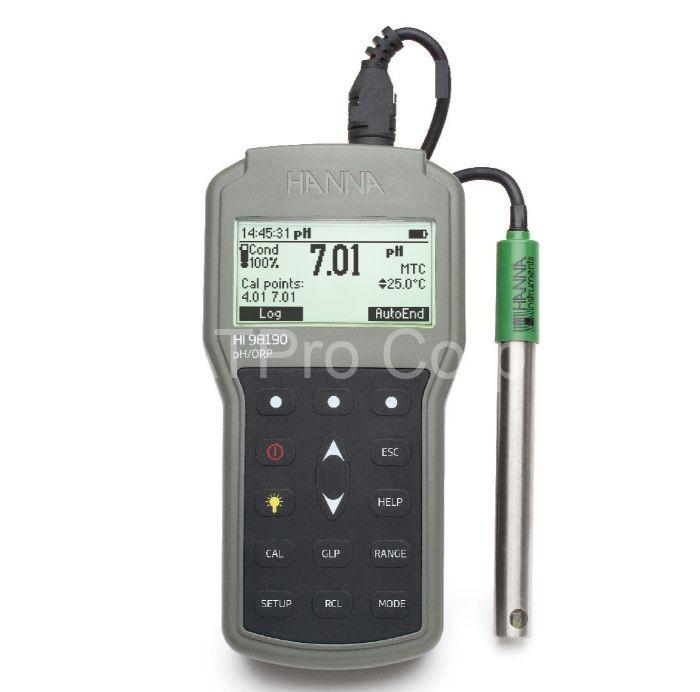 Tính năng của thiết bị đo orp