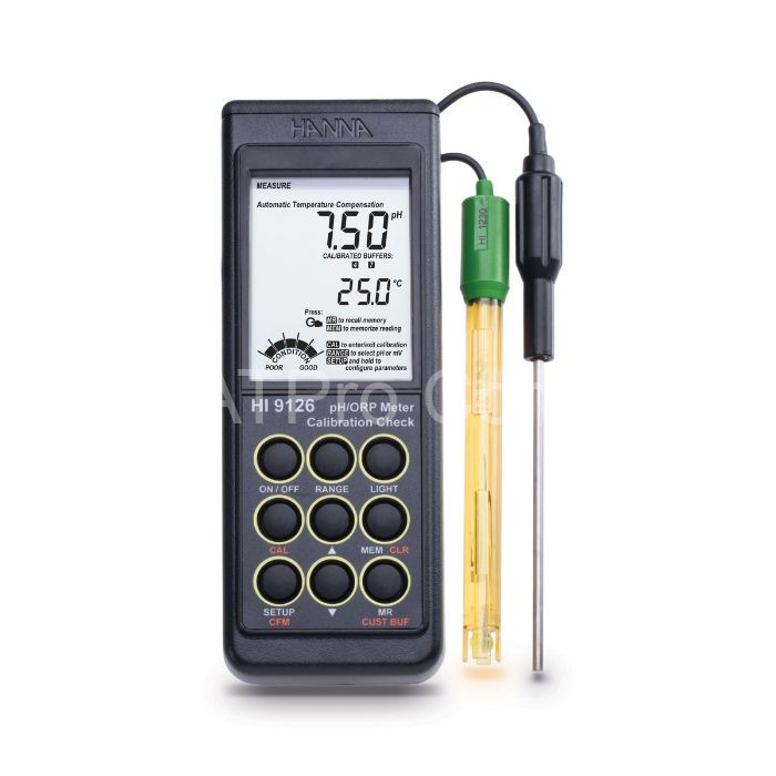 Thiết bị đo pH là dụng cụ dùng để đo nồng độ axit, kiềm hay trung tính trong môi trường nước