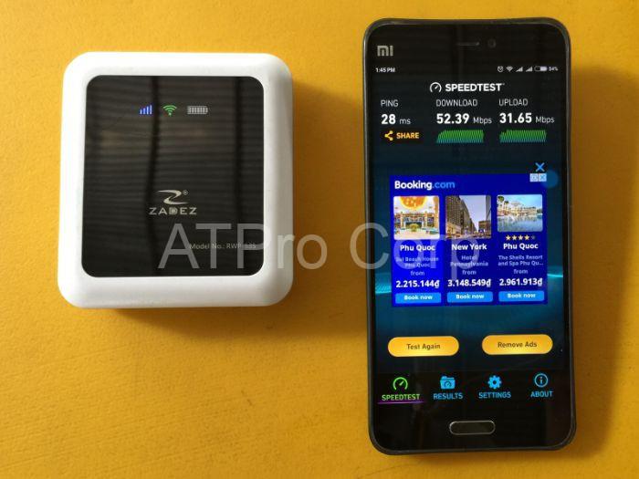 Tính năng của thiết bị đo sóng wifi