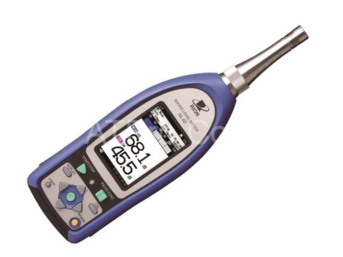 thiết bị đo tiếng ồn cầm tay
