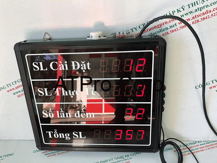 bảng led đếm số lượng sản phẩm