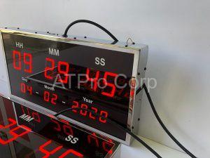 bảng điện tử đồng bộ thời gian