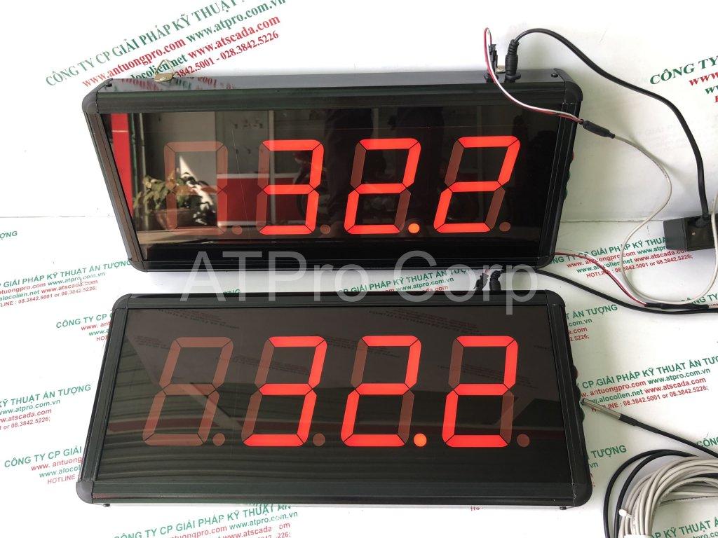 bảng điện tử led đo nhiệt độ