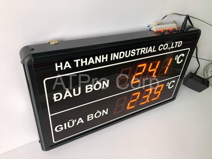 bảng điện tử theo dõi nhiệt độ