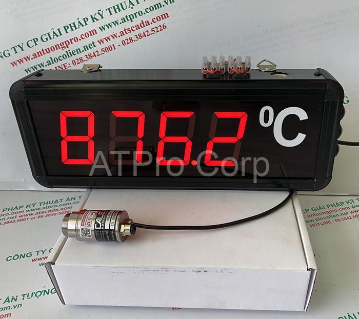 bảng hiển thị nhiệt độ
