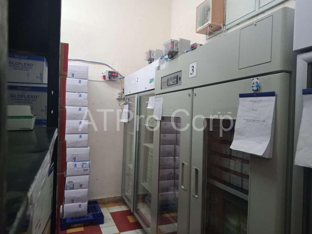 hệ thống giám sát và cảnh báo nhiệt độ