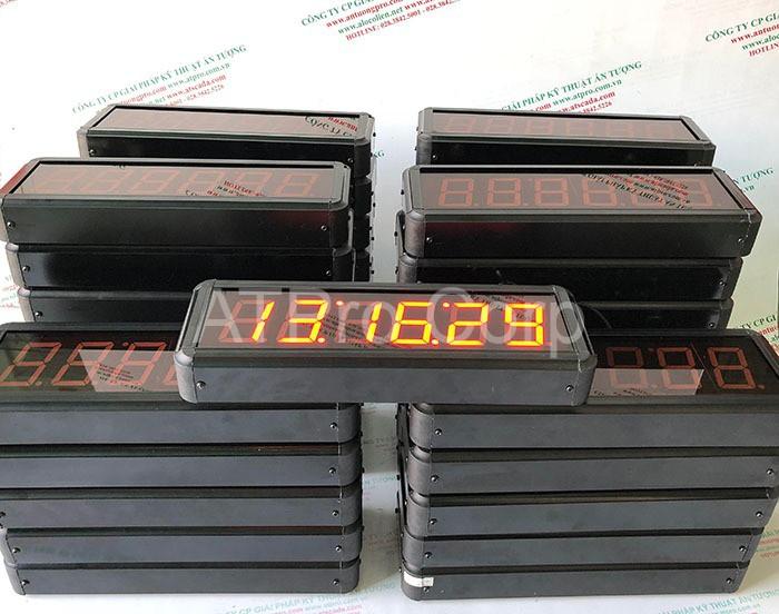 bảng led đồng bộ thời gian thực
