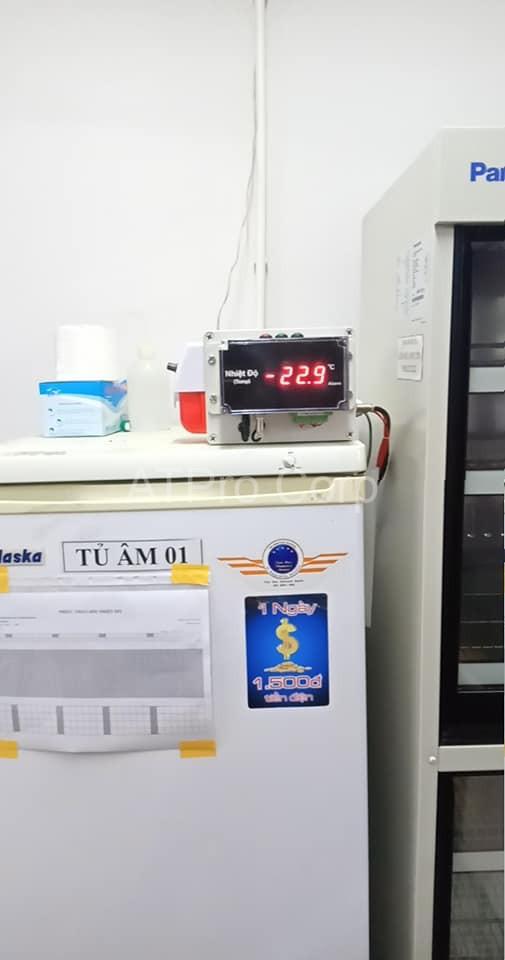 hệ thống cảnh báo nhiệt độ kho thuốc - lắp đặt
