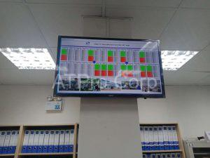 Hệ thống andon báo hiệu trong sản xuất - lắp đặt