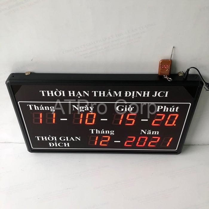 bảng led đếm ngược thời gian
