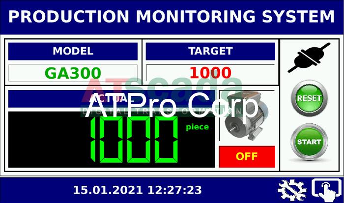Hệ thống giám sát năng suất sản xuất