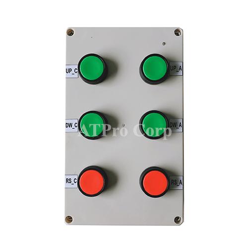 bảng điện tử hiển thị sản lượng - hộp điều khiển