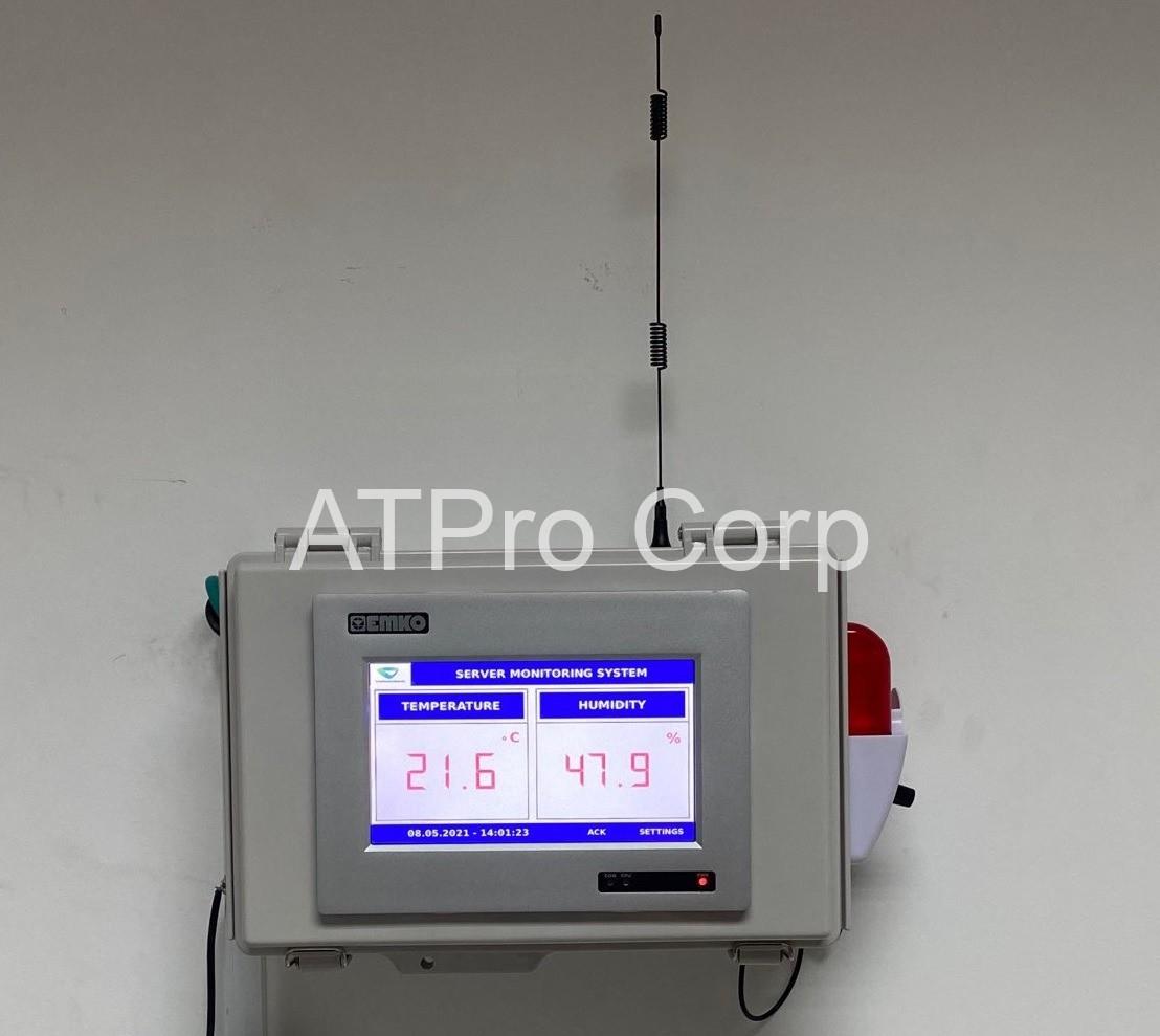 giám sát nhiệt độ phòng máy chủ